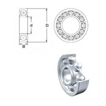 60 mm x 78 mm x 10 mm  ZEN S61812 deep groove ball bearings